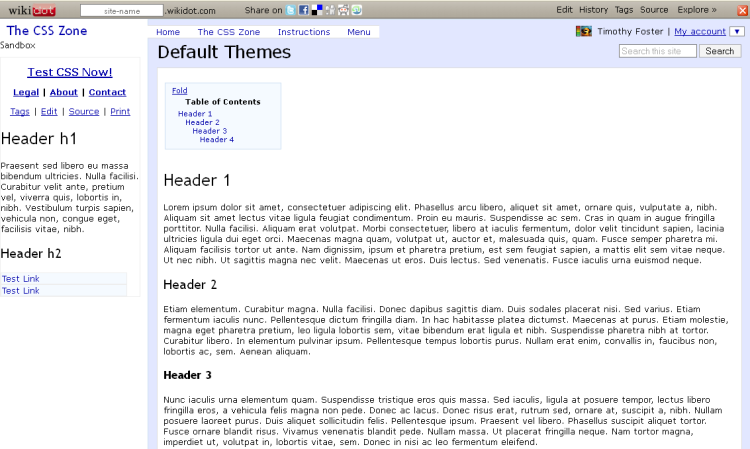 Thesis theme css anatomy